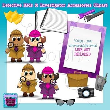 Detective Kids & Investigator Class Decor