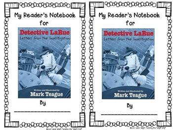 Detective LaRue {Book Study and Center Activities}