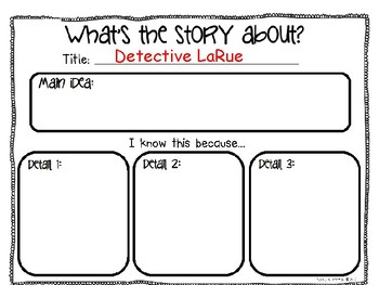 Detective LaRue  Letters from the Investigation
