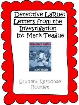 Detective LaRue: Student Response Questions