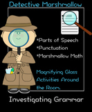 Detective Marshmallow: Literacy and Math Worksheets