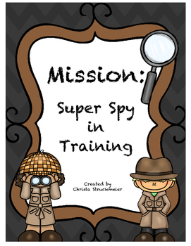 Detective Mission: Super Spy in Training