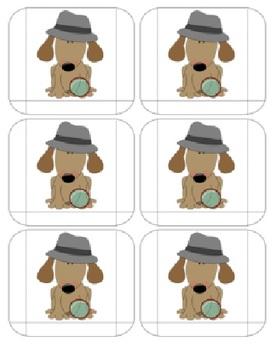 Detective Mystery Behavior Pocket Chart Pattern