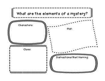 Detective Mystery Common Core Reading and Literacy Unit