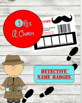 Detective Name Badges
