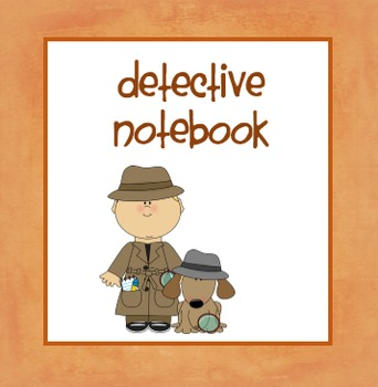 Detective Notebook FREEBIE