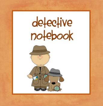 Detective Notebook FREEBIE