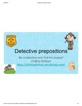 Detective Prepositions