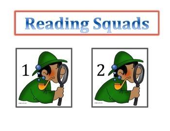 Detective Reading Squads