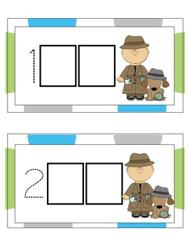 Detective Sam Common Core Leveled Writing Dry/Erase Activity Cards