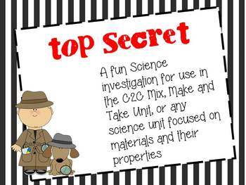 Detective Science Investigation - Materials and their Properties