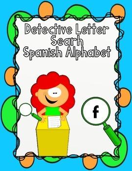 El Alfabeto:  Letter Recognition Worksheets