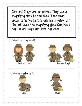 A Detective Story: Reading & Vocabulary
