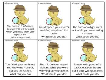 Detective Style Pragmatic Language Activity