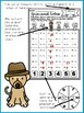 Detective Subtraction Spin and Solve Math Centers
