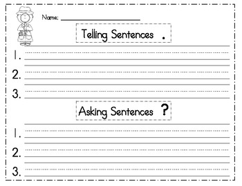 Detective Telling and Asking Sentences