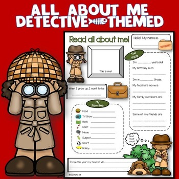 All About Me Detective Theme