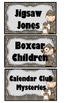 Detective Theme Book Bin Labels