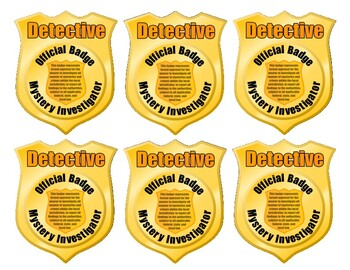 Detective Theme Bulletin Board Letters & Display Items