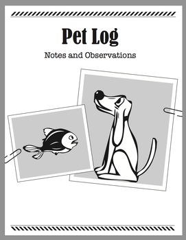 Detective Theme: Message Journal (Pet, Travel, Adventure, Accidents Logs) (K-6)