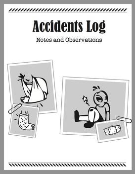 Detective Theme: Message Journal (Pet, Travel, Adventure, Accidents Logs) (K-6)