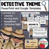 Detective Theme PowerPoint Templates