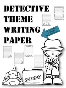 thematic writing paper Dltk's free printable writing paper templates dltk's crafts for kids free printable writing paper custom writing paper choose form a variety of themes and line types to create custom writing paper.