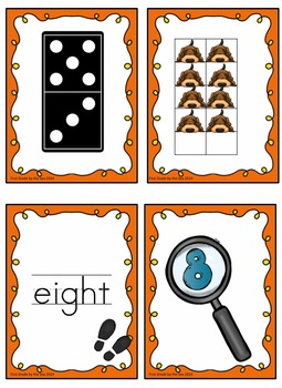 Detective Themed 0-30 Number Posters with mini cards and activities