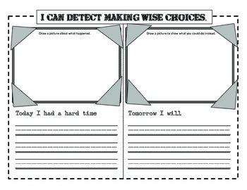 Detective Themed Behaviour Clip Chart Management System (Aussie version)