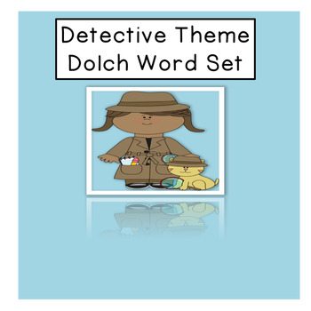 Detective Themed Dolch Set