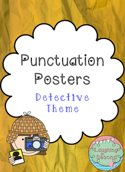 Detective Themed - Punctuation Posters