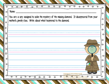 Detective Writing Prompt