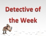 Detective of the Week