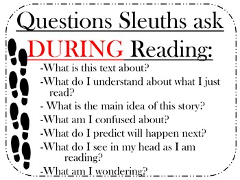 Detective reading strategies