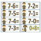 Detective theme Addition/Subtractions Facts