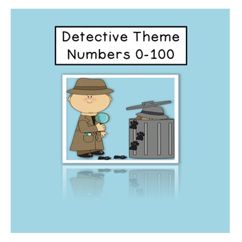 Detective theme Numbers 0-100