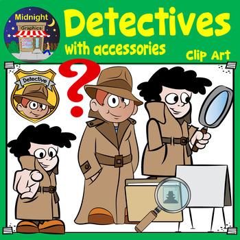 Detectives Clip Art
