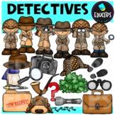 Detectives Clip Art Set (Educlips Clipart)