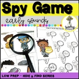 Spy Game : Early Sounds : Low Prep Articulation Activity