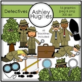 Detectives Clipart {A Hughes Design}