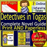 Detectives in Togas Complete Novel Study - Printable Activities AND Paperless!