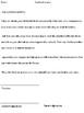 Detention / Reflection room worksheet essays - Junior Grades 4,5,6 version