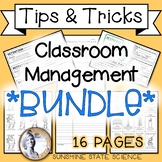 Classroom Management: Bathroom Pass, Detention Slip, CN Template, HW Log