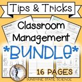 Classroom Management: Bathroom Pass, Detention Slip, CN Te