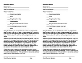 Detention/Discipline Notice