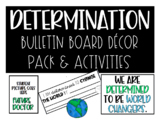 Back To School Bulletin Board Decor Pack: Determination