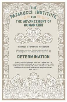 Motivational Poster -  Determination