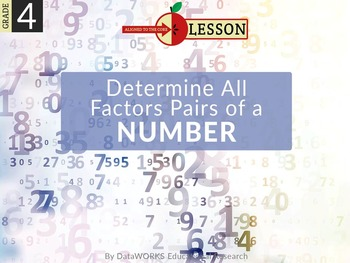 Determine All Factor Pairs of a Numbers