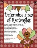 Determine Area of Rectangles (TEKS 3.6C) STAAR Practice