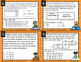 Determine Area of Rectangles Word Problem Task Cards STAAR